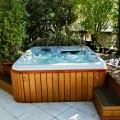 Le bien-être d'un spa en terrasse