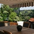 La terrasse est devenu un lieu de vie