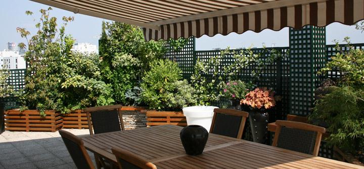 Une Salle A Manger Decouvrable Terrasse Concept