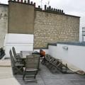 La terrasse avant aménagement