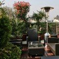 A heated terrace to make the pleasure last