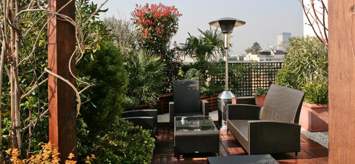 Une terrasse chauffée prolonge le plaisir