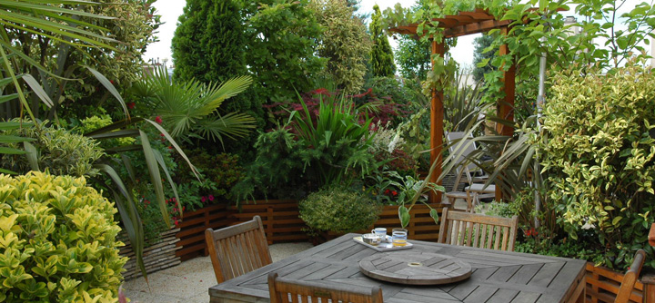 Amenagement Terrasse Avec Spa. Amazing Amenagement Petit Jardin ...